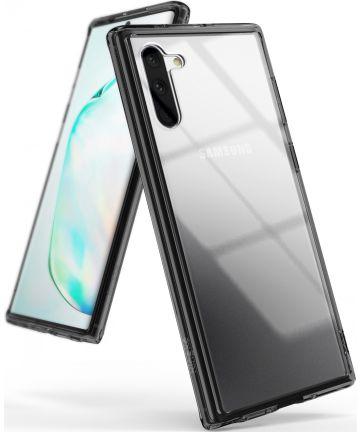 Ringke Fusion Samsung Galaxy Note 10 Hoesje Smoke Black Hoesjes