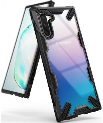 Ringke Fusion X Samsung Galaxy Note 10 Hoesje Zwart