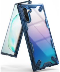 Ringke Fusion X Samsung Galaxy Note 10 Hoesje Blauw