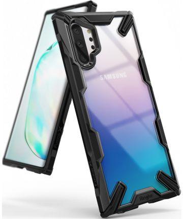 Ringke Fusion X Samsung Galaxy Note 10 Plus Hoesje Zwart Hoesjes