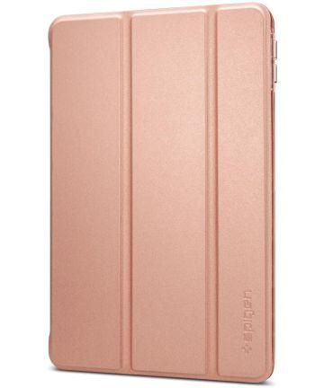 Spigen Smart Fold Hoesje met Standaard Apple iPad Mini 5 Roze Goud Hoesjes