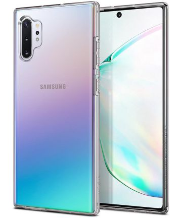 Spigen Liquid Crystal Hoesje Samsung Galaxy Note 10 Plus Transparant Hoesjes