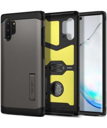 Spigen Tough Armor Hoesje Samsung Galaxy Note 10 Plus Gunmetal