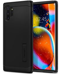 Spigen Tough Armor Hoesje Samsung Galaxy Note 10 Plus Zwart
