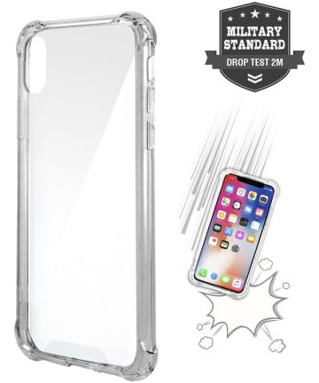 4smarts IBIZA Transparante Apple iPhone X(S) Back Cover Hoesjes