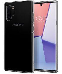 Spigen Crystal Flex Samsung Galaxy Note 10 Plus Hoesje Transparant
