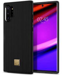 Spigen La Manon Classy Hoesje Samsung Galaxy Note 10 Plus Zwart