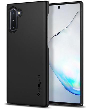Spigen Thin Fit Case Samsung Galaxy Note 10 Zwart Hoesjes