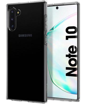 Spigen Liquid Crystal Hoesje Samsung Galaxy Note 10 Transparant Hoesjes