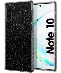 Spigen Liquid Crystal Hoesje Galaxy Note 10 Glitter Transparant