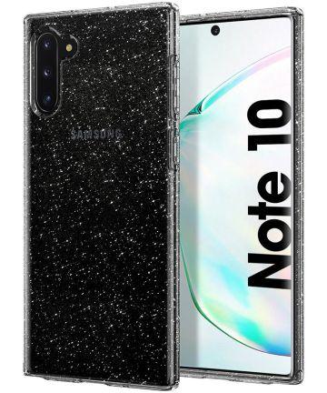 Spigen Liquid Crystal Hoesje Galaxy Note 10 Glitter Transparant Hoesjes