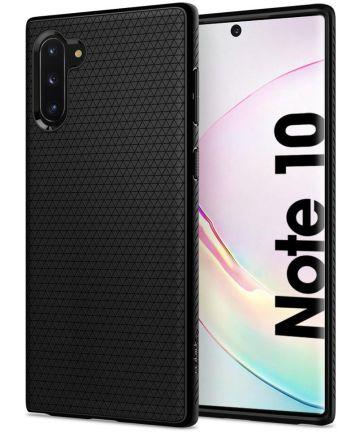 Spigen Liquid Air Hoesje Samsung Galaxy Note 10 Zwart