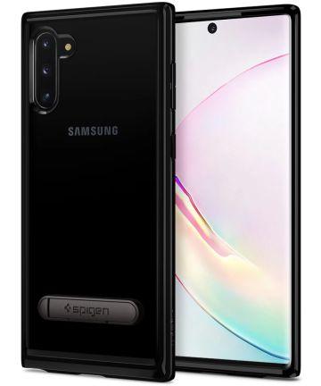Spigen Ultra Hybrid S Hoesje Samsung Galaxy Note 10 Zwart Hoesjes