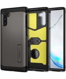 Spigen Tough Armor Hoesje Samsung Galaxy Note 10 Gunmetal