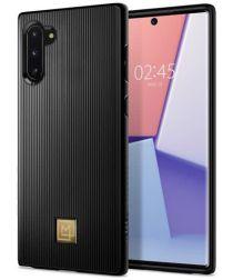 Spigen La Manon Classy Hoesje Samsung Galaxy Note 10 Zwart