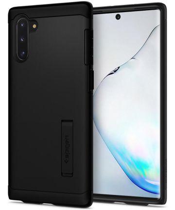 Spigen Slim Armor Hoesje Samsung Galaxy Note 10 Zwart Hoesjes