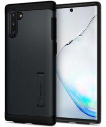 Spigen Slim Armor Hoesje Samsung Galaxy Note 10 Metal Slate