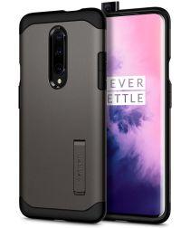 Spigen Slim Armor Hoesje OnePlus 7 Pro Gunmetal