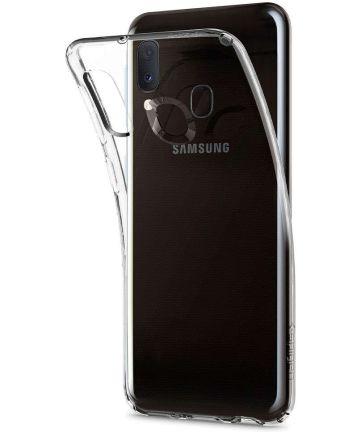 Spigen Liquid Crystal Hoesje Samsung Galaxy A20E Transparant