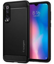 Spigen Rugged Armor Hoesje Xiaomi Mi 9 SE Zwart