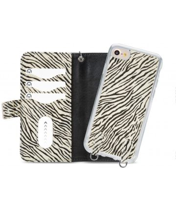 Mobilize 2-in-1 Gelly Wallet Zipper Case iPhone 7 / 8 Zwart