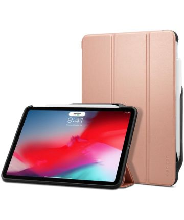 Spigen Smart Fold 2 Hoes Standaard iPad Pro 11 (2018) Roze Hoesjes