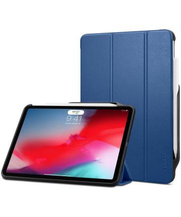 Spigen Smart Fold 2 Hoes Standaard iPad Pro 11 (2018) Blauw Hoesjes