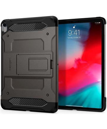 Spigen Tough Armor TECH Case iPad Pro 11 (2018) Gunmetal Hoesjes