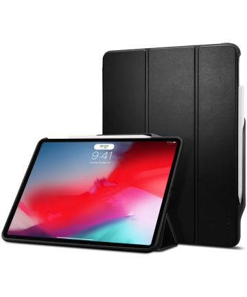 Spigen Smart Fold 2 Hoesje met Standaard iPad Pro 12.9 (2018) Zwart Hoesjes