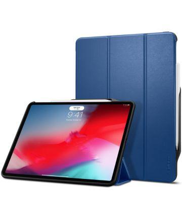 Spigen Smart Fold 2 Hoesje met Standaard iPad Pro 12.9 (2018) Blauw Hoesjes