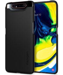Spigen Thin Fit Hoesje Samsung Galaxy A80 Zwart