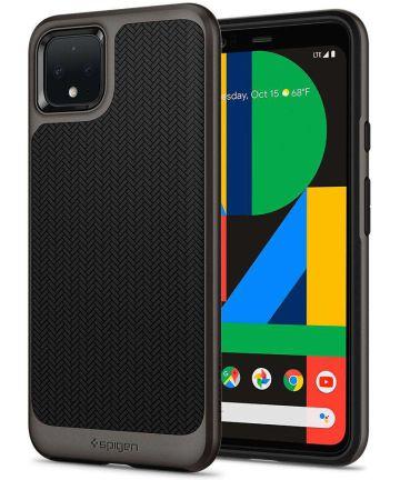 Spigen Neo Hybrid Hoesje Google Pixel 4 XL Gunmetal Hoesjes