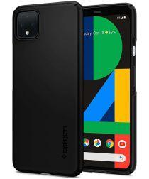 Spigen Thin Fit Hoesje Google Pixel 4 Zwart