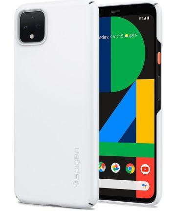 Spigen Thin Fit Google Pixel 4 Hoesje Wit Hoesjes