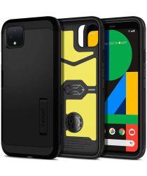 Spigen Tough Armor Case Google Pixel 4 Zwart
