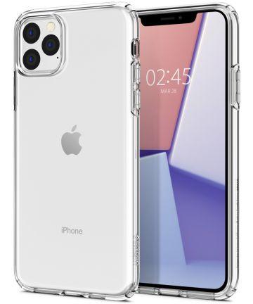 Spigen Crystal Flex Apple iPhone 11 Pro Max Transparant Hoesjes