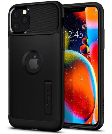Spigen Slim Armor Hoesje Apple iPhone 11 Pro Max Zwart Hoesjes