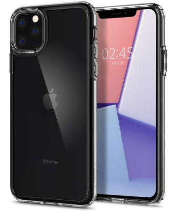 Spigen Crystal Hybrid Hoesje Apple iPhone 11 Pro Max Transparant Hoesjes