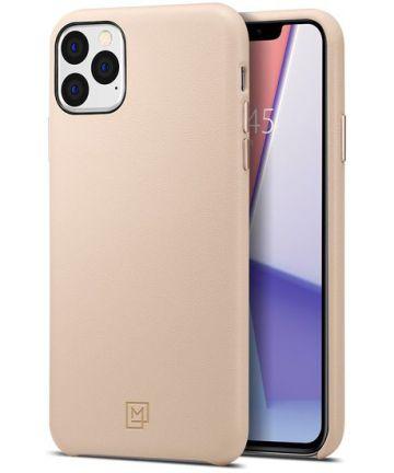 Spigen La Manon Calin Case Apple iPhone 11 Pro Max Pale Pink Hoesjes