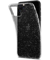 Spigen Liquid Crystal Hoesje Apple iPhone 11 Pro Max Clear Glitter