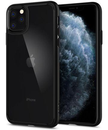 Spigen Ultra Hybrid Hoesje Apple iPhone 11 Pro Max Zwart Hoesjes