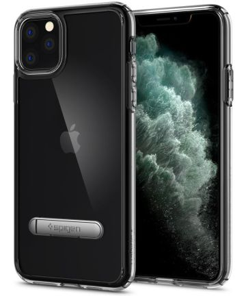 Spigen Ultra Hybrid S Hoesje Apple iPhone 11 Pro Max Transparant Hoesjes