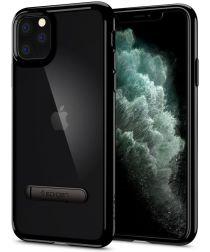 Spigen Ultra Hybrid S Hoesje Apple iPhone 11 Pro Max Zwart