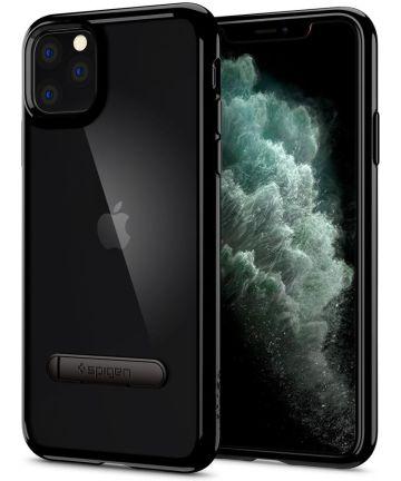 Spigen Ultra Hybrid S Hoesje Apple iPhone 11 Pro Max Zwart Hoesjes