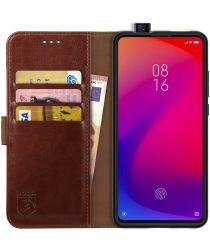 Rosso Element Xiaomi Mi 9T Hoesje Book Cover Bruin