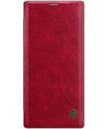 Nillkin Qin Series Flip Hoesje Samsung Galaxy Note 10 Rood