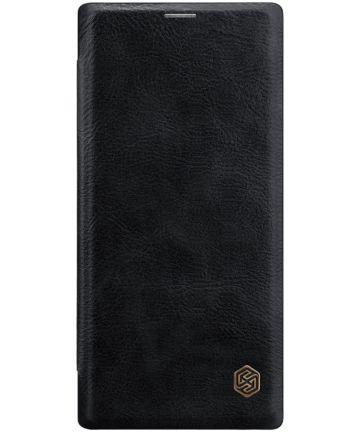 Nillkin Qin Series Flip Hoesje Samsung Galaxy Note 10 Zwart Hoesjes