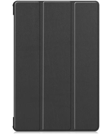 Samsung Galaxy Tab S6 Tri-Fold Hoes Zwart Hoesjes