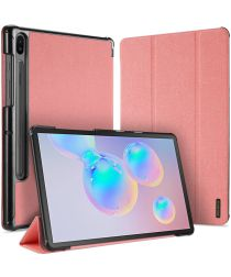 Dux Ducis Domo Series Samsung Galaxy Tab S6 Tri-fold Hoes Roze
