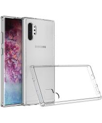 Samsung Galaxy Note 10 Plus Anti-scratch TPU Hoesje Transparant
